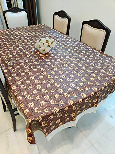 CASA-NEST PVC Printed Center Table Cover, 4 Seater Size-40×60 (Width x Length), inch, Waterproof Easy to Clean, Multi…
