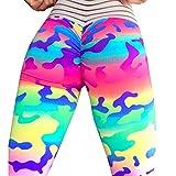 Women Yoga Pants, Naladoo Camouflage Print Workout Gym Run Yoga Sport Leggings