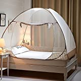 Kidsidol Mosquito Net Tent for Bed Portable Folding Mesh Pop-up Tent suitable for bedroom Home Outdoor Trip Anti Mosquito for Baby Adult (150 x 200cm)