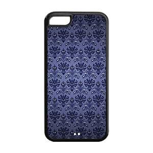 Custom iPhone 5c Case - The Haunted Mansion iPhone 5c TPU Designer Case Cover Protector