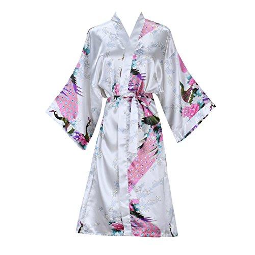 oriental silk dressing gown - 2