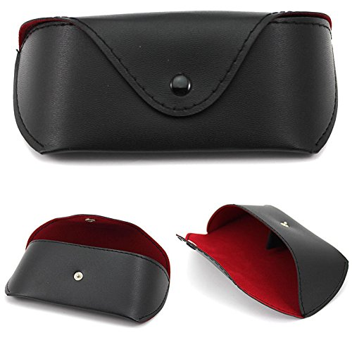 VIPASNAM-Portable PU Leather Eye Glasses Sunglasses Protector Holder Case Cover - Men Sunglasses Cheap Louis Vuitton For