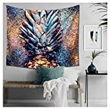 Mexidi Tapestry Wall Hangings Wall Blanket Art Dorm Shawl Beach Towel Throw Tapestry Decor Bedspread Bedroom Living Kids Girls Boys Room Dorm Accessories 51x59inchs (Colorful)