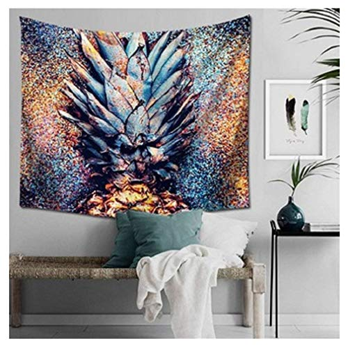 Mexidi Tapestry Wall Hangings Wall Blanket Art Dorm Shawl Beach Towel Throw Tapestry Decor Bedspread Bedroom Living Kids Girls Boys Room Dorm Accessories 51x59inchs (Colorful) by Mexidi