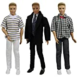 Best Wear Gifts For Friends - 3 Sets of Ken Doll Clothes with Formal Review