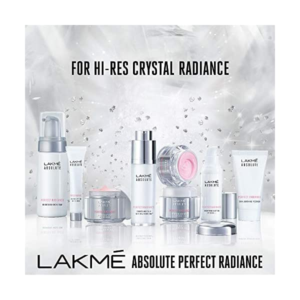 Lakmé Absolute Perfect Radiance Skin Lightening/ Brightening Night Crème (Cream), 50 g 2021 August Repairs the skin Moisturizes skin Gives radiant glowing skin