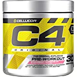 Cellucor C4 Original Pre Workout Powder, Energy Drink Supplement with Creatine, Nitric Oxide & Beta Alanine, Strawberry Watermelon, 30 Servings