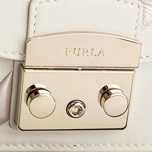 Cross Furla B Bag H White Fantasia x 6 Mini Body T Petalo Toni cm Metropolis 5x12x17 Womens Crossbody qAArXw6