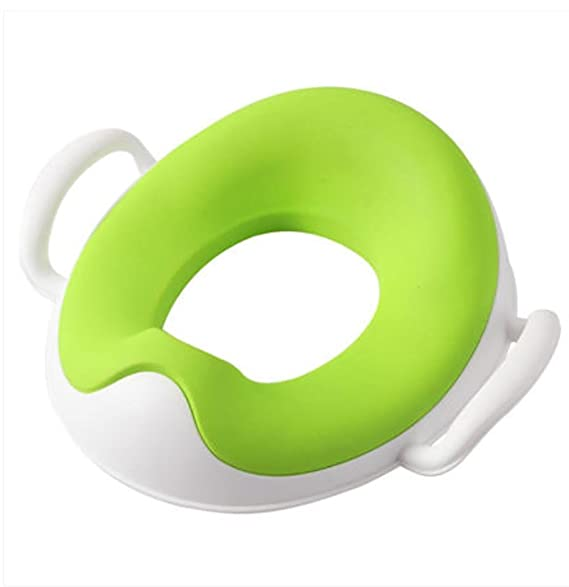NUK 10256368/Toilet Trainer Toilet Seat for Children with Splash Guard//Petrol