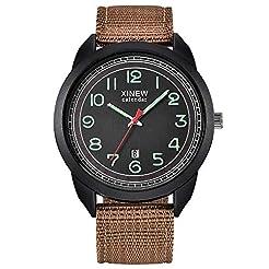 Luxury Men Sport Watches, Yezijin Nylon ...