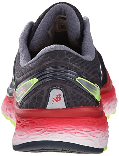 New BalanceNBM1080BK6 - Zapatillas de Running Hombre Negro (Black/Red/Silver)