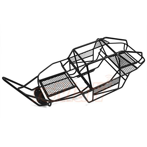 Xtra Speed V Steel Cage Chassis Black For AXIAL SCX10 #XS-SCX22494 (Scx10 Axle Tubes)