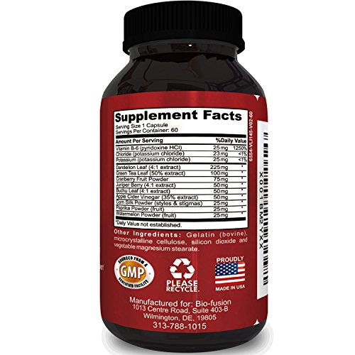 Best natural diuretic supplement