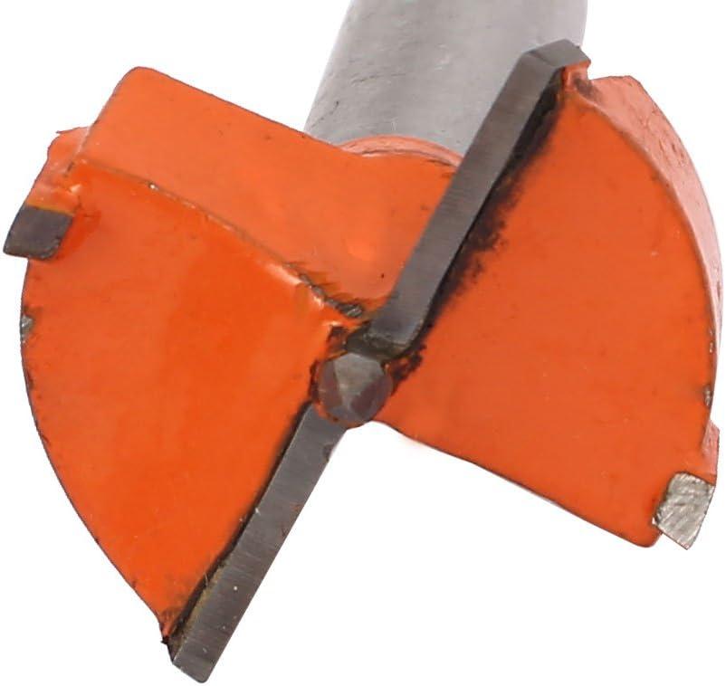 Broca Herramienta Naranja model: A5679VIX-2688BF Aexit Di/ámetro de 32 mm Punta de madera Perforaci/ón de corte Bisagra Perforadora