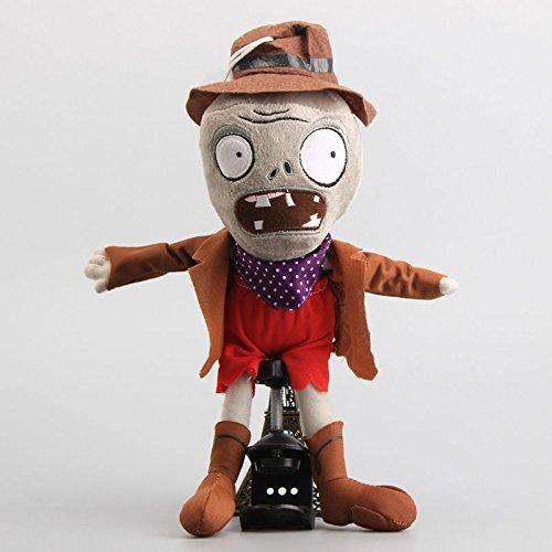 Cowboy Zombie Wild West 12 Inch Toddler Stuffed Plush Kids Toys PVZ