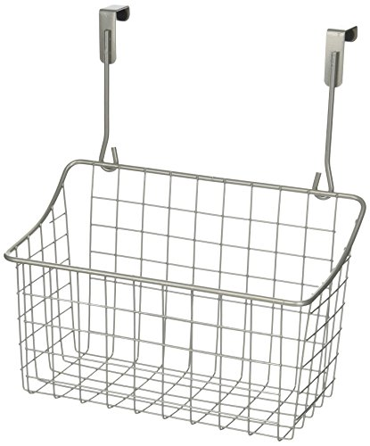 Spectrum 56277 Over the Cabinet Grid Basket, Medium, Satin Nickel