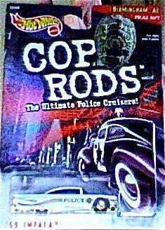 Cop Rods Hot Wheels - Hot Wheels 1999 Cop Rods: Birmingham AL '59 Impala