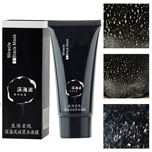 TONSEE Black Deep Cleansing Purifying Blackhead Pore Removal Peel-off Facial Mask