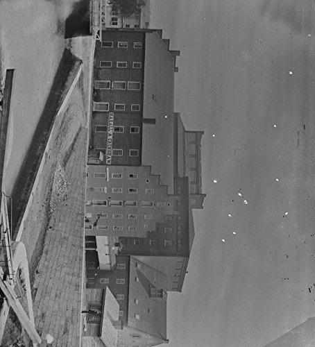 1865 Photo Richmond  Va  Haxall   Crenshaws Flour Mill  Canal Lock In Foregr