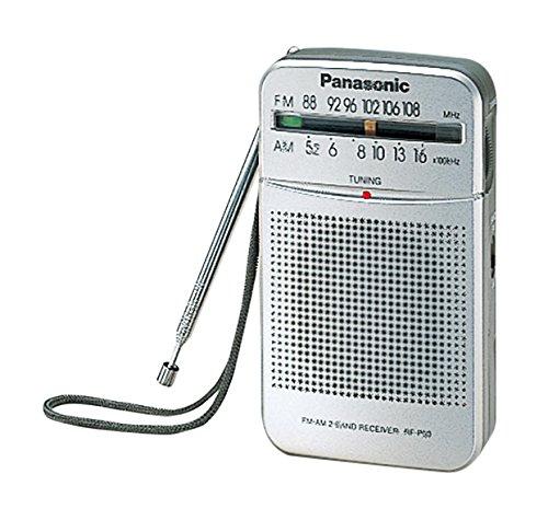 Port/átil, Digital, Am,FM, 87-108 MHz, 520-1730 Khz, 0,15 W Pasa el Rat/ón por Encima de la Imagen para ampliarla Panasonic RF-P50D Port/átil Digital Plata Radio