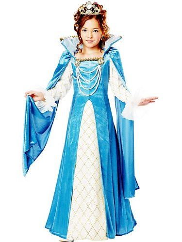 California Costumes Renaissance Queen Child Costume, Medium