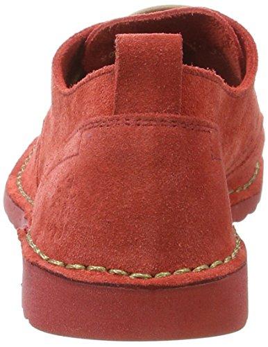 Fly London P801453001, Zapatos de Cordones Mujer Rojo (Street Red 001)