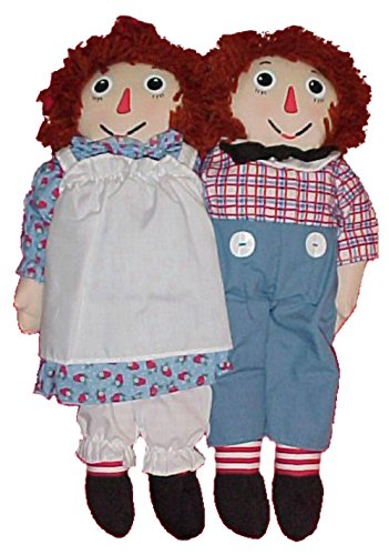 "Raggedy Ann & Andy 18"" Twosome of Dolls sold through Sears Wishbook in 2000"