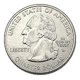 London Magic Works Professional Vanishing Bite Out Genuine US Quarter...