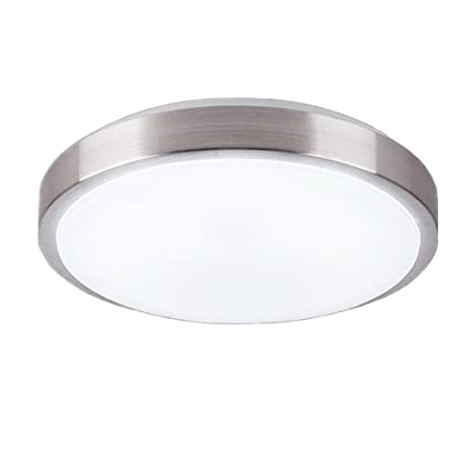AFSEMOS 11.8 inch LED Flush Mount Ceiling Light Fixture, 32W Replace ...