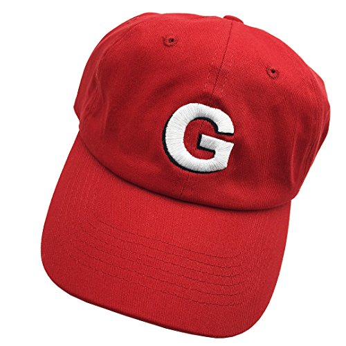 Shengyuan Golf Dad hats Baseball Cap 3D Letter G Embroidered Adjustable Snapback Cotton Unisex - Red G And D