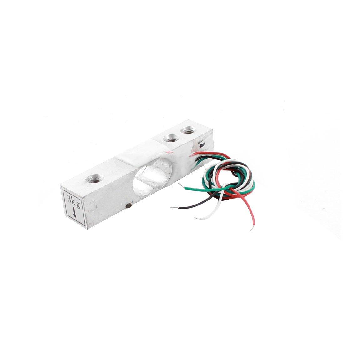 Aexit 3Kg 6.6lb Sensors Aluminium Alloy Micro Load Cell Weighting Vibration Sensors Pressure Sensor