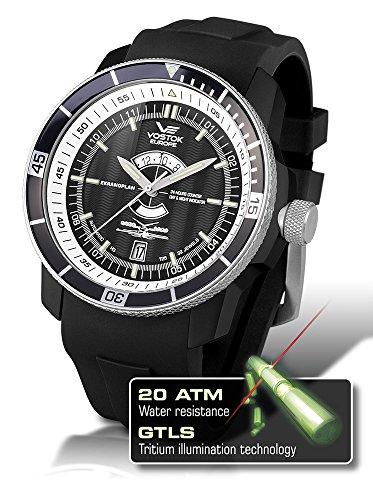 Vostok-Europe Men's 2432.01/5452109 Caspian Sea Monster Diver With Tritium Tubes Watch