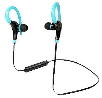 Llegar guía Bluetooth auriculares, Bluetooth 4.1 deporte HD auriculares estéreo in-Ear auriculares auriculares con ganchos de oreja flexible: Amazon.es: ...