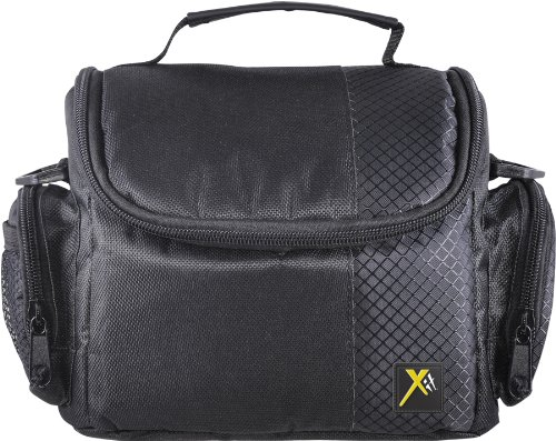 Xit XTCC2 Medium Digital Camera/Video Case (Black)
