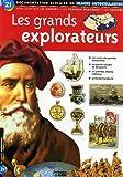 Les grands explorateurs : Documentation scolaire en images autocollantes - Dès 7 ans