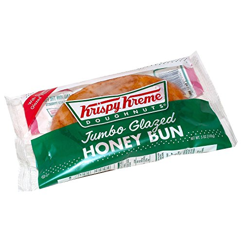 Krispy Kreme Jumbo Glazed Honey Bun (45 oz., 9 ct.) A1 by Krispy Kreme