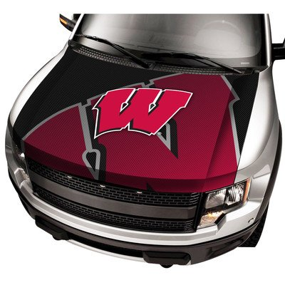 ProMark NCAA Wisconsin Auto Hood Cover, One Size, One Color