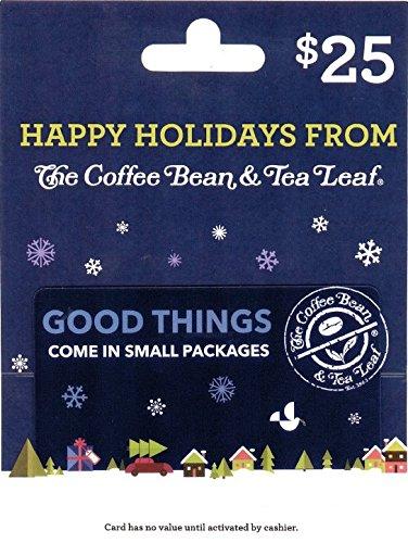 Leaf Holiday Card (The Coffee Bean & Tea Leaf $25 Holiday Gift Card)