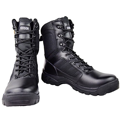 GRAMOT Men's ETF Jungle Boots&Desert Tactical Outdoor Combat Boots(Black)
