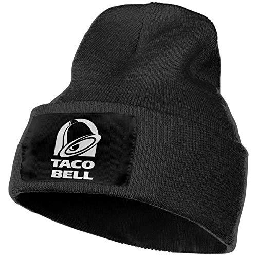 (Hoodeid Men's Women's Beanie Hat Art Bell with Taco Knit)