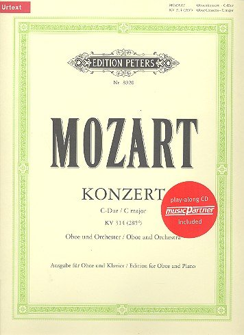 Mozart: Oboe Concerto in C Major K.314 (265d) (Oboe & Piano)