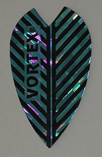 Vortex Flights - US Darts Harrows - 3 Sets (9 Flights) Vortex, Blue, Dart Flights - Larger Size