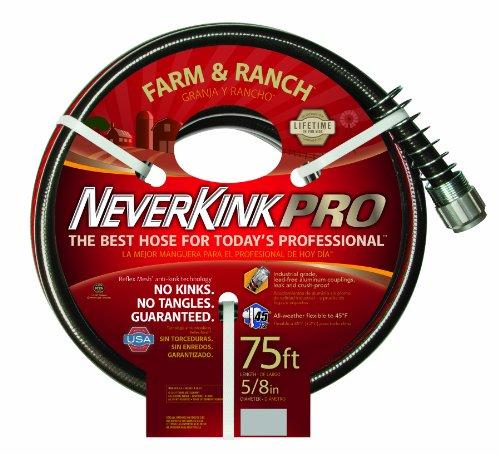 Teknor Apex Neverkink, 8846-75 Farm & Ranch Water Hose, 5/8-In x 75-feet