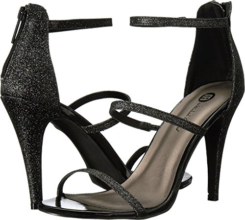 Eden Shoes (Michael Antonio Women's Eden - Glitter Black Shoe)