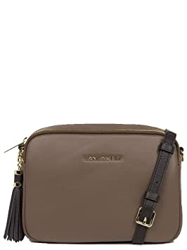 f965be4425 Lancaster Mademoiselle Ana Sac porté épaule Taupe: Amazon.fr: Bagages