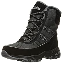 Skechers Women's D'Lites Chateau Lace Up Winter Boot
