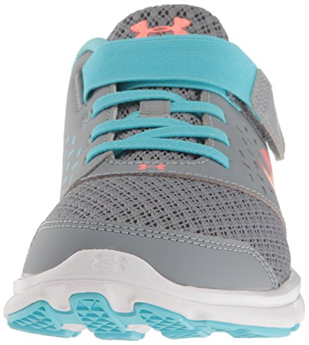Adjustable M Pre Little Rave 1 Kid Steel Running School Girls' Shoes Closure Under Blue Armour US Venetian IOxZqEWwX