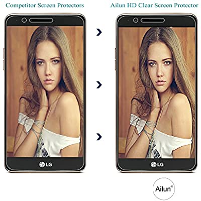 LG Stylo 3 Screen Protector,[3Pack]by Ailun,2.5D Edge,Ultra Clear,Anti-Scratch,Case Friendly,Tempered Glass for LG Stylo 3/LG Stylus 3 ONLY,NOT for LG Stylus 2-Siania Retail Package by Siania