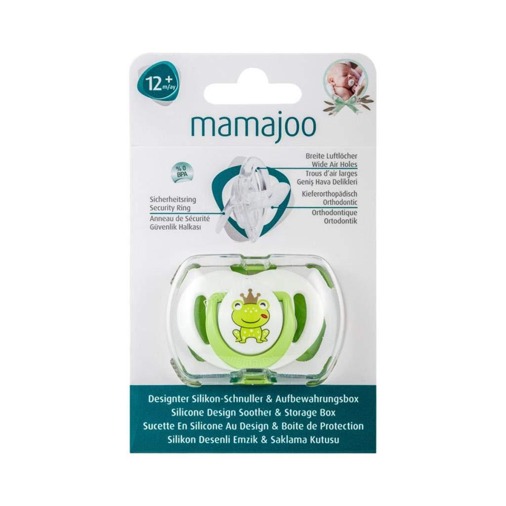 Mamajoo MMJ4036 Mamajoo - Chupete de silicona (12 + M ...