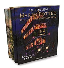 Harry Potter The Illustrated Collection 9781408897317